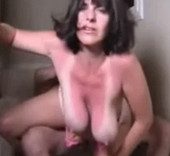 Mature Saggy Floppy Tits Gif