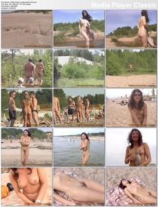 0232 - Kirbon - Russian Nudist Beach - Clip 3