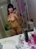 latina girl,mirror