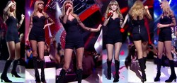 Taylor Swift Video Escote y Shorts Con Botas NRJ Music Awards